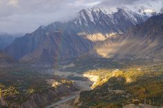 #Karakoram, #Pakistan This immense #mountain range spans the borders between Pakistan, #India, and #China. One of the Greater Ranges of #Asia, it is home to the highest concentration of #peaks found anywhere on #Earth.