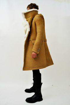 BALMAIN HOMME : 2011AW MOUTON COAT