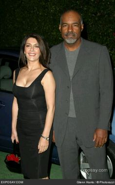 Marina Sirtis and Michael Dorn.......wow...... two of my STAR TREK heroes