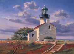 Old Point Loma Lighthouse, San Diego California