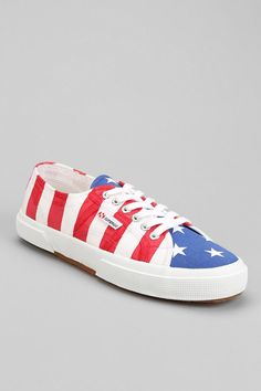 Superga 2750 Cotu USA Flag Sneaker #urbanoutfitters