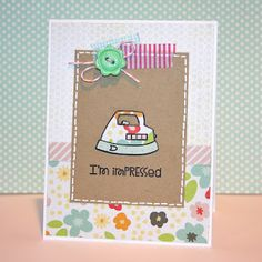 Paper Smooches SPARKS: September 3-9 Trend Watch challenge --card by SPARKS DT Heather--using the PS stamp set Squeaky Clean