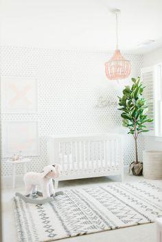Project Nursery - Pink and Gray XO Nursery - Project Nursery
