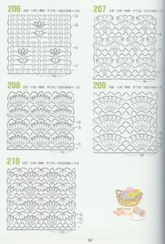 Nice free crochet patterns!