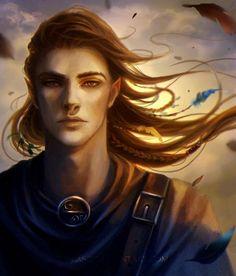 m Half Elf Bard portrait Calin