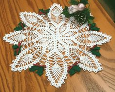 Holiday Magic Pineapple Doily