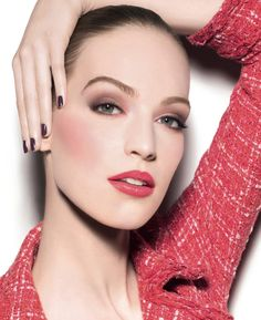 Vanessa Axente - Chanel Beauty - Chanel Spring 2014 Make Up Collection