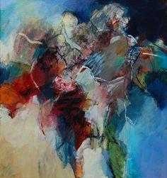 Another Hero, Marije van Toledo Blue Abstract Painting, Resin Art, Abstract Expressionism, Mixed Media Art, Contemporary Art, Van, Hero, Paintings, Paper