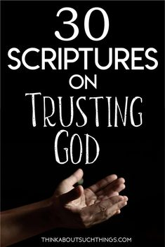 The Bible is clear that we should Trust in the Lord with all your heart. But there are tons of other Bible verses about trusting God. These scriptures will bring a deeper meaning to your faith. Scriptures On Trust, Verses About Trust, Encouraging Bible Verses, Bible Encouragement, Bible Quotes, Bible Topics, Bible Resources, I Trust You Lord, Trust Quotes