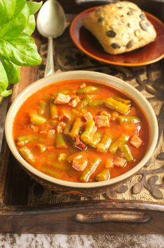 Goulash, Polish Recipes, Thai Red Curry, Stew, Casserole, Beans, Baking, Dinner, Vegetables