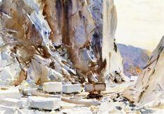 John Singer Sargent - Carrara: Quarry II 1911 - The Athenaeum