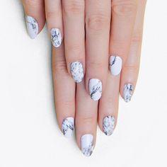 Marble Nail Stickers ($14) ❤ liked on Polyvore featuring beauty products, nail care, nail treatments, nails, makeup, nail polish and nail wraps