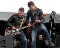 Alex Turner and Jamie Cook - 2012 Coachella Valley Music & Arts ...