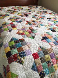 Quilt Square Patterns, Scrap Quilt Patterns, Block Patterns, Scrappy Quilts, Easy Quilts, Quilting Projects, Quilting 101, Quilting Ideas, Sewing Projects