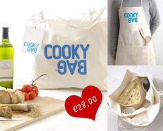 The Cooky Bag is a Cooking Apron and Travel Bag Rolled into One #kitchen trendhunter.com