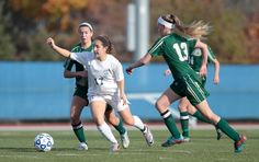 The girls varsity soccer team beat Vestal to head to the state playoffs.