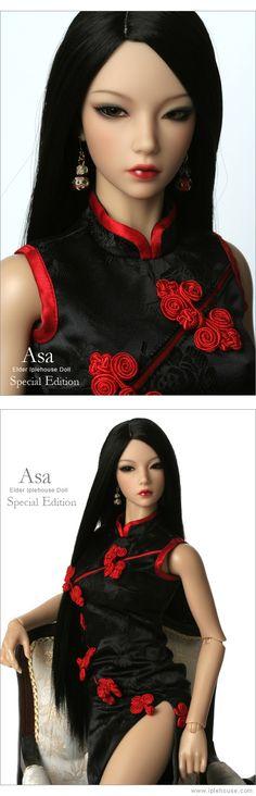 Шарнирная кукла. Кукла в восточном наряде. Кукла в восточном национальном костюме. Шарнирка Asa.