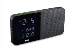Braun's New Super-Simple, Super-Legible Alarm Clock | Co.Design: business + innovation + design