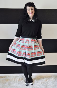 Hey, I found this really awesome Etsy listing at http://www.etsy.com/listing/159598707/aqua-blue-skirt-with-red-typewriters-and