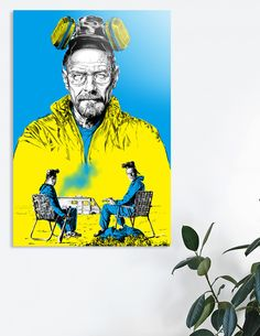 Discover «Breaking bad», Exclusive Edition Acrylic Glass Print by Paola Morpheus - From 80€ - Curioos