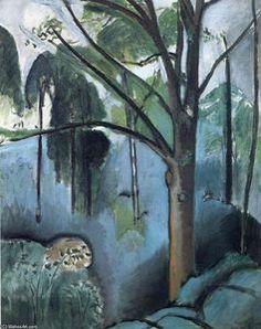 Trivaux étang - (Henri Matisse)