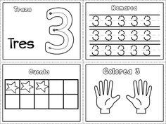 Grafomotricidad números del 1 al 10 – Imagenes Educativas Preschool Writing, Preschool Education, Preschool Learning Activities, Home Learning, Preschool Spanish, Numbers Preschool, Math For Kids, Lessons For Kids, Fun Math