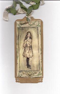 Alice in Wonderland bookmark!