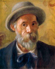Pierre Auguste Renoir, self portrait …                                                                                                                                                                                 More
