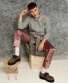 Underground Creepers Clothing Winklepicker Shoes, Boots and Accessories with Authentic British subculture inspired footwear, t-shirts, sweatshirts, hoodies. Hogwarts, Transgender, Underground Creepers, Olly Alexander, Masculine Style, Alexander The Great, Band Memes, Punk Fashion, Fashion Photo