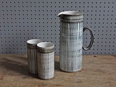Vintage water set produced by Briglin Pottery | H is for Home