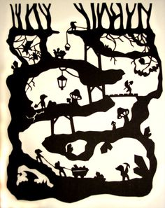 Paper Tales: The 7 Dwarves by ~Illeander on deviantART