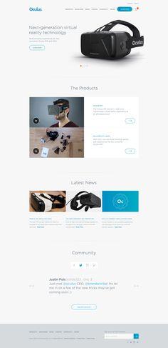 Oculus Redesign by Vivek Venkatraman
