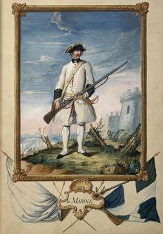 Regiment de la marine 1757 - Drapeau de la France — Wikipédia