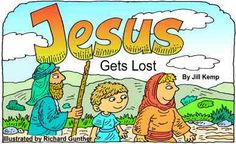 Get little books to have children put together themselves as they learn about Jesus.  You can also copy black and white versions.