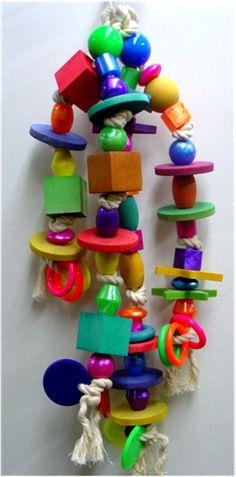 Macaw toy
