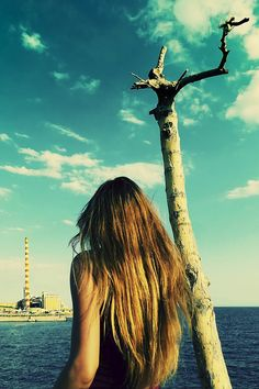 #photography #art #love #heart #valentine #lonely #Loneliness #lomo #girl #woman #sea #clouds #vintage #model #antonist #etsy,#greece