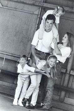 Full House, Olsson twins, photo, black and white, celeb, famous, tv, show, love, kærlighed, family