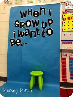 Great idea for hopes and dreams at beginning of year.