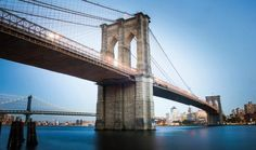 Brooklyn Bridge Stock New York