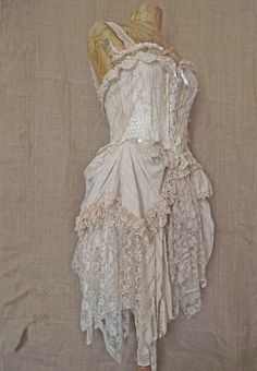 Honeydew dress by NaturallyBohemian on Etsy, £200.00