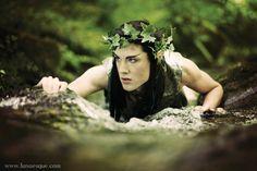 Lunaesque Creative Fantasy Photography.  Forest Elf, Faerie, Changeling