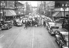 SW 4th and Yamhill, circa 1939