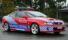 Queensland Police Australia  Holden Monaro Highway Patrol Police Patrol, Police Cars, Military Vehicles, Police Vehicles, Holden Australia, Holden Monaro, Aussie Muscle Cars, Emergency Vehicles, Pontiac Gto
