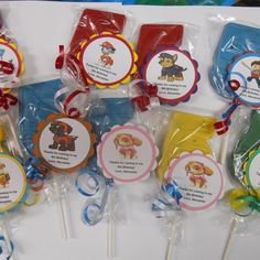 25 Nick Jr Team Umizoomi Gourmet 4th Birthday Party Favors with custom tags