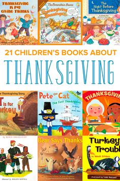 Gobble up these children's books about Thanksgiving, perfect for the young reader. From turkeys to fall, your kids will enjoy reading about Thanksgiving.