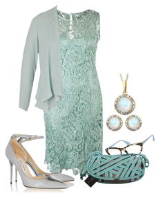 """""""OPAL - Birthstone Color"""" by fantasiegirl ❤ liked on Polyvore featuring Prada, Chesca, Burberry and Jimmy Choo"""