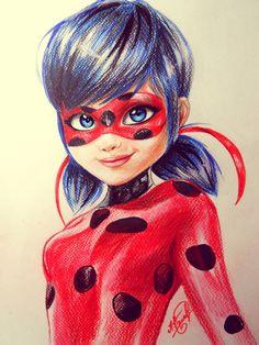 Marinette as Ladybug