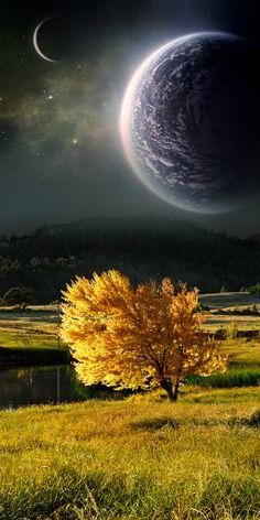 Unrealistic Scenes  -- photomanipulation by Nathan Spotts, via Behance