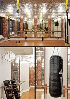 inside the training centre