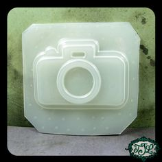 resin MOLD 35mm Camera 1 inch BEZEL 76x53mm also by JeweledLizard, $7.75